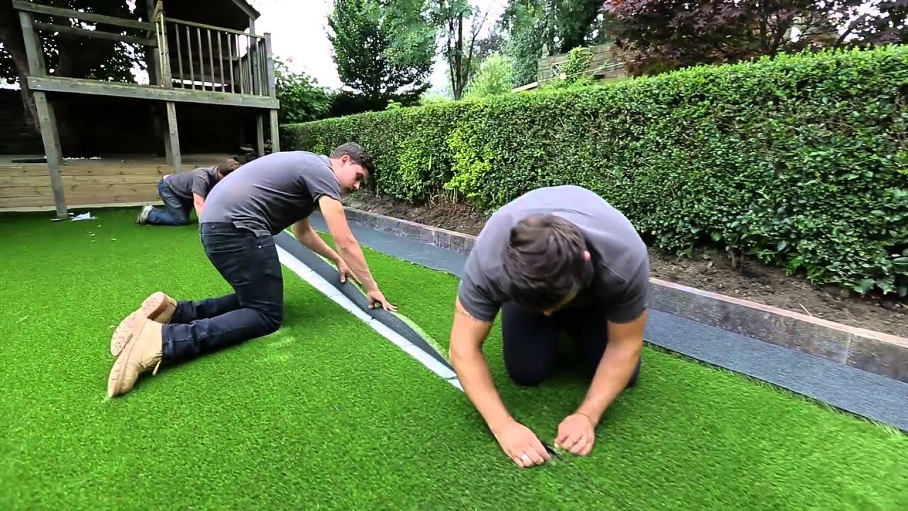 How To Lay Artificial Grass